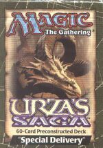 Urza's Saga Special Delivery Precon Theme Deck