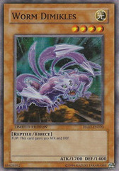 Worm Dimikles - HA01-EN020 - Super Rare - Limited