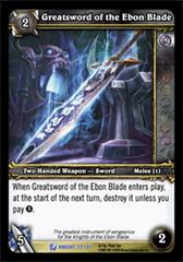 Greatsword of the Ebon Blade