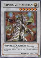 Explosive Magician - SOVR-EN044 - Ultra Rare - 1st Edition