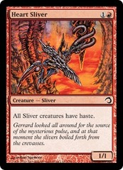 Heart Sliver - Foil on Channel Fireball
