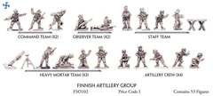 Finnish Artillery Group - Infantry, Support Weapons