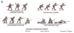 Finnish Command Group - Infantry, Command