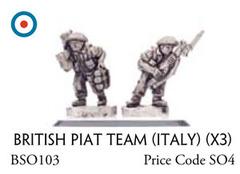 British PIAT Team (Italy) (x3)