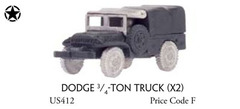 Dodge 3/4 ton truck (x2) - Vehicle, Truck