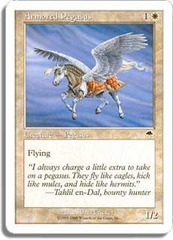 Armored Pegasus on Channel Fireball