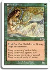 Elvish Lyrist on Channel Fireball
