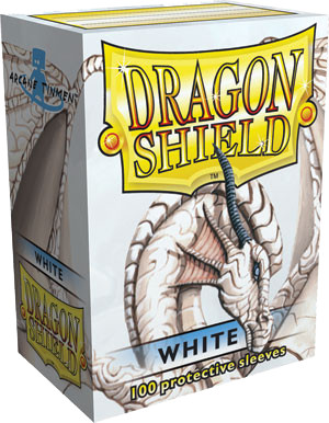Dragon Shield Classic Sleeves - White - 100ct
