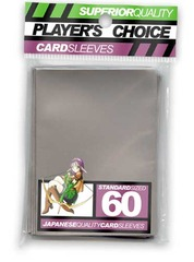 Player's Choice Standard Silver Sleeves (60 ct.) on Channel Fireball