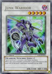Junk Warrior - 5DS1-EN041 - Ultra Rare - 1st Edition on Channel Fireball