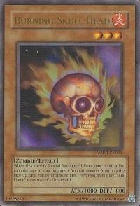 Burning Skull Head - WB01-EN003 - Ultra Rare - Promo Edition