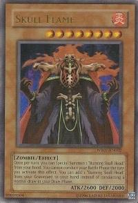 Skull Flame - WB01-EN002 - Ultra Rare - Promo Edition