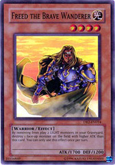 Freed the Brave Wanderer - DR2-EN014 - Super Rare - Unlimited Edition
