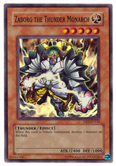Zaborg the Thunder Monarch - DR2-EN135 - Super Rare - Unlimited Edition