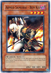 Armed Samurai - Ben Kei - DR3-EN143 - Common - Unlimited Edition on Channel Fireball