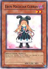 Ebon Magician Curran - DR04-EN031 - Common - Unlimited Edition