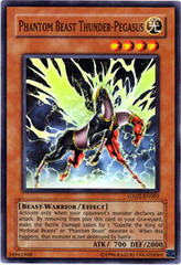Phantom Beast Thunder-Pegasus - GX02-EN003 - Super Rare - Promo Edition on Channel Fireball
