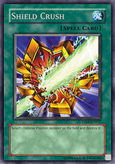 Shield Crush - PP01-EN007 - Secret Rare - Unlimited Edition