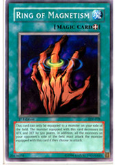 Ring of Magnetism - SDP-039 - Common - 1st Edition