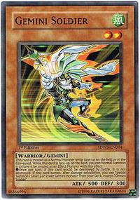 Gemini Soldier - SDWS-EN004 - Common - 1st Edition