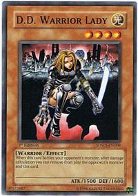 D.D. Warrior Lady - SDWS-EN009 - Common - 1st Edition