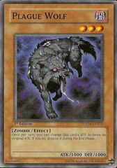 Plague Wolf - SDZW-EN015 - Common - 1st Edition