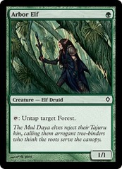 Arbor Elf on Channel Fireball