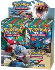 XY3 Furious Fists Booster Box