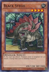 Black Stego - BP03-EN025 - Common - 1st Edition on Channel Fireball