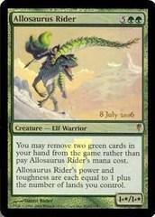 Allosaurus Rider - Prerelease Promo