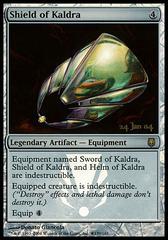 Shield of Kaldra - Foil - Prerelease Promo