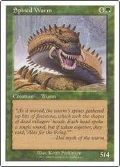 Spined Wurm  (Book Promo) on Channel Fireball