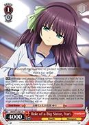 Role of a Big Sister, Yuri - AB/W31-E061 - R