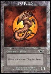 Sliver - Token on Channel Fireball