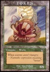 Wurm Token (Odyssey) on Channel Fireball