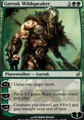 Garruk Wildspeaker on Channel Fireball