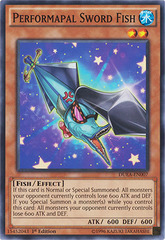 Performapal Sword Fish - DUEA-EN007 - Common - 1st Edition
