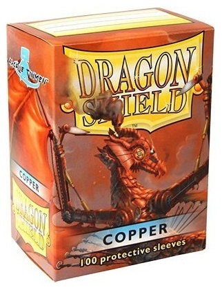 Dragon Shield Classic Standard-Size Sleeves - Copper - 100ct