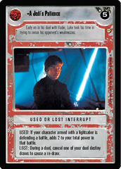 A Jedi's Patience