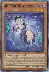 Ghostrick Yuki-onna - MP14-EN141 - Common - 1st Edition