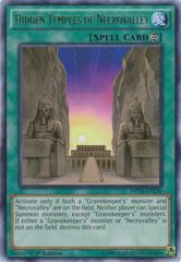 Hidden Temples of Necrovalley - MP14-EN230 - Rare - 1st Edition