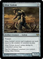 Altar Golem on Channel Fireball