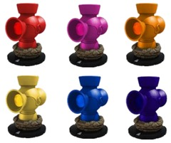 DC HeroClix: War of Light - Lantern Pack Complete Set