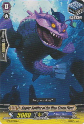 Angler Soldier of the Blue Storm Fleet - BT15/093EN - C