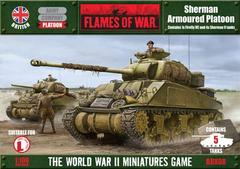 British Armoured Troop [Sherman V x 4, Firefly Vc x 1]