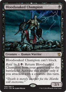 Bloodsoaked Champion - Foil