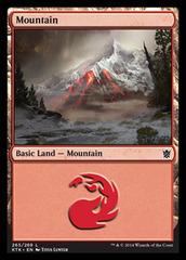 Mountain - Foil (265)(KTK)