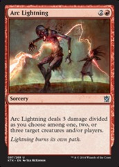 Arc Lightning - Foil (KTK)