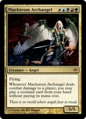 Maelstrom Archangel on Channel Fireball