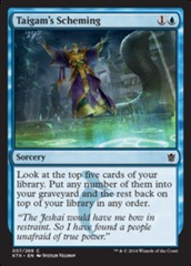 Taigam's Scheming - Foil on Channel Fireball